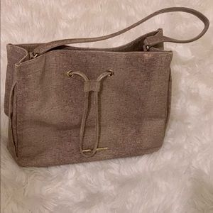 Elaine Turner Tan Beige Snake Pattern Bag